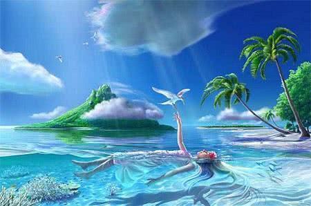 Sonhar com mar e chuva