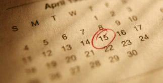 Sonhar com calendário