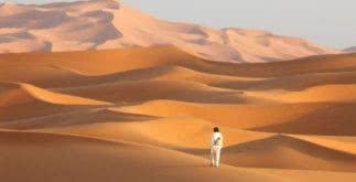 Sonhar com deserto