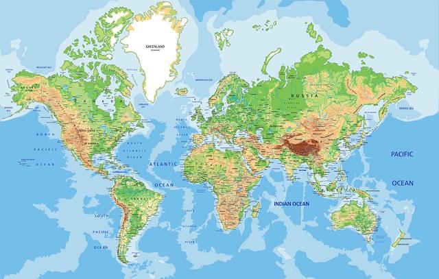 Sonhar com mapa pode indicar um momento de bagunça da vida pessoal