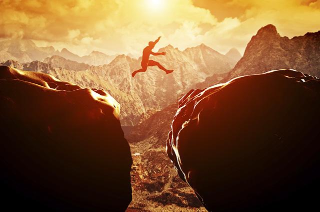 Sonhar com penhasco muito alto é sinal de que você está se sentindo inseguro